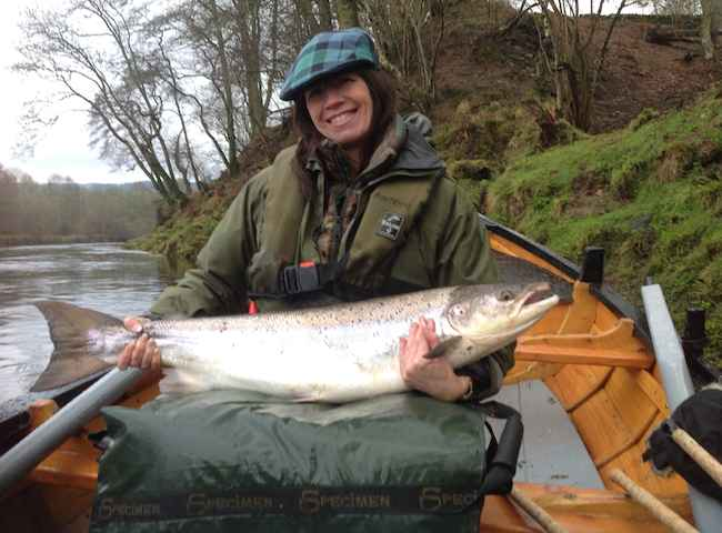 Salmon Fishing In Scotland Is For Women Too